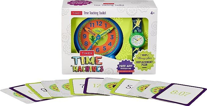 Timex Reloj Aprende la Hora para Niños de Cuarzo con Correa en Nailon TWG014900
