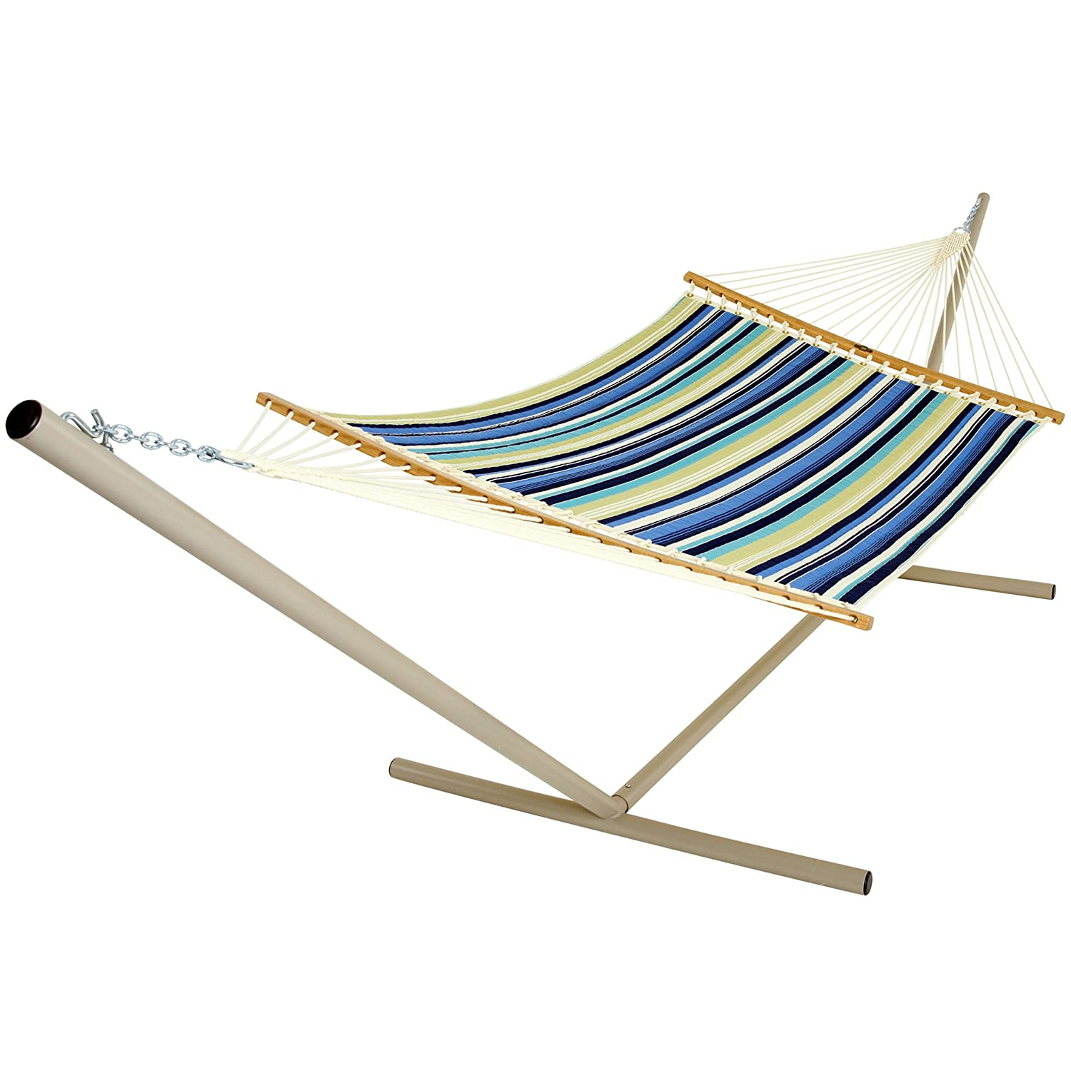 Amazon.com : Pawley's Island QBE01 Quilted Fabric Hammock, Beaches Stripe,  Large : Patio, Lawn & Garden - Amazon.com : Pawley's Island QBE01 Quilted Fabric Hammock, Beaches