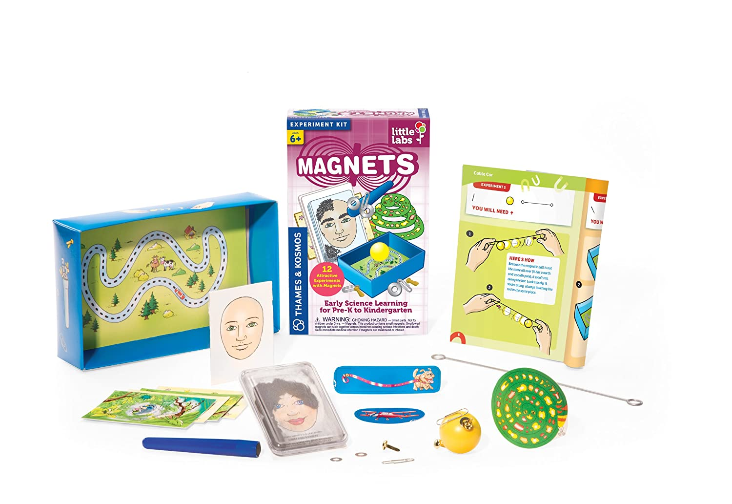 Thames and Kosmos Little Labs Magnets Science Kit