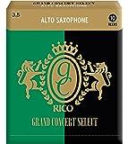 RICO リード グランドコンサートセレクト アルトサクソフォーン 強度:3.5(10枚入) RGC10ASX350