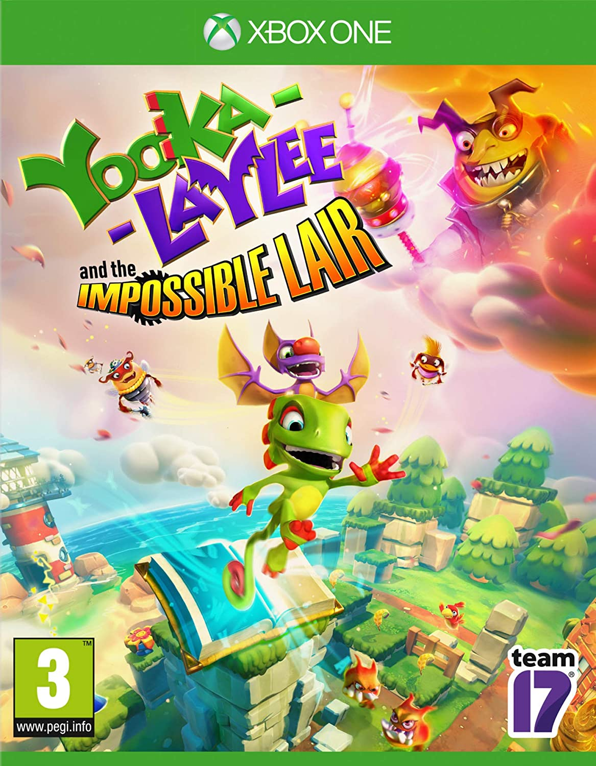 Yooka-Laylee and the Impossible Lair: Amazon.es: Videojuegos