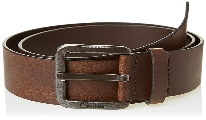 Calvin Klein Jeans K50K501207, Ceinture Homme, Marron (Cognac), FR  90 42c97bb0ecf