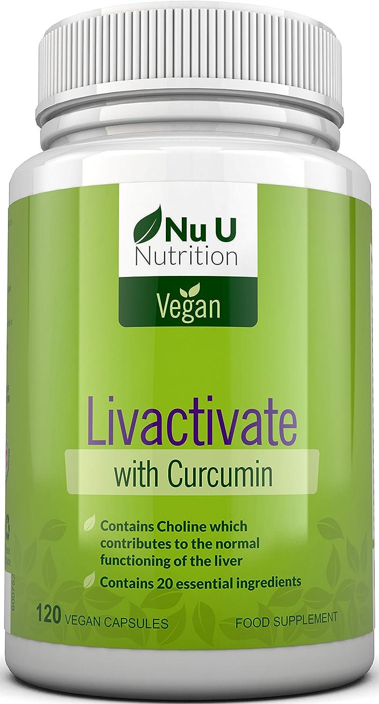 Livactivate Desintoxicador del Hígado con Curcumina   Vegano ...
