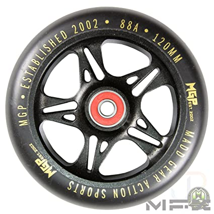Madd Gear MFX - Ruedas de Metal para Patinete de 120 mm ...