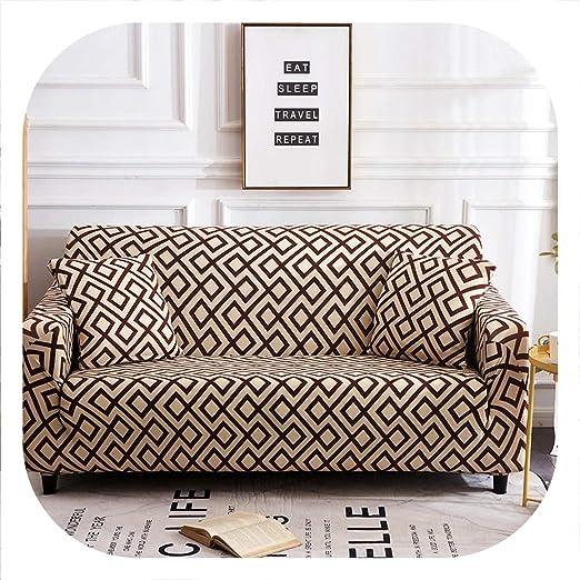 HANBINGPO Funda de sofá elástica para sofá de Diferentes ...