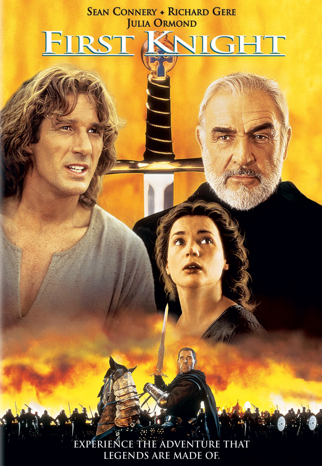 Amazon First Knight Sean Connery Richard Gere Julia Ormond