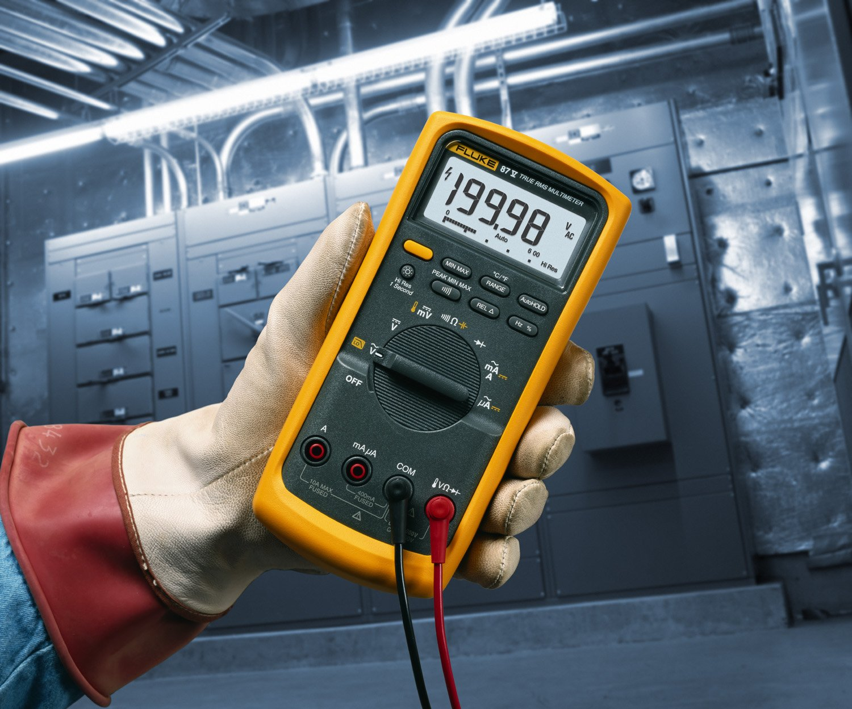 Fluke 87V E2 Industrial Electrician Combo Kit