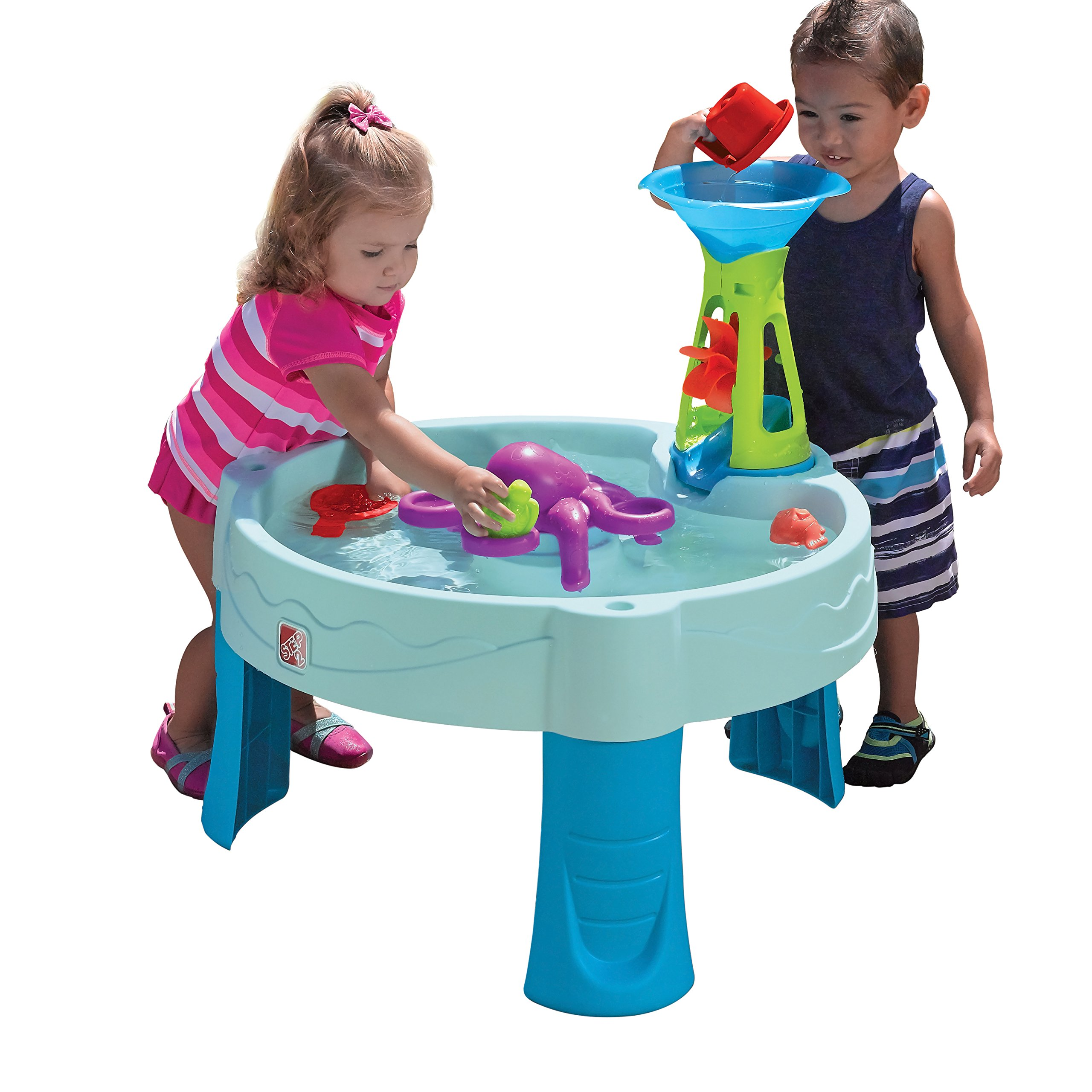 Step2 Octopus Spinner Water Table Playset