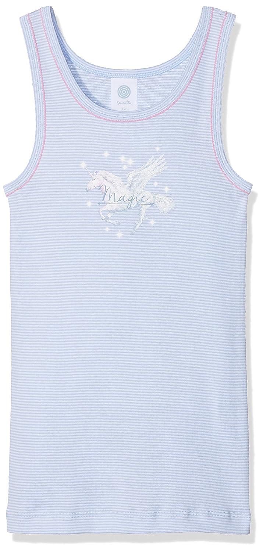 Sanetta Girl's Shirt W/O Sleeves Stripe Vest