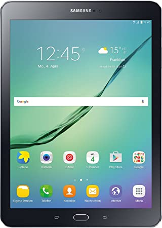 Samsung Galaxy Tab S2 9 7 Inch Tablet (Black) (1 8 GHz Octo Core Processor,  32 GB, 3 GB RAM, Android), German Version