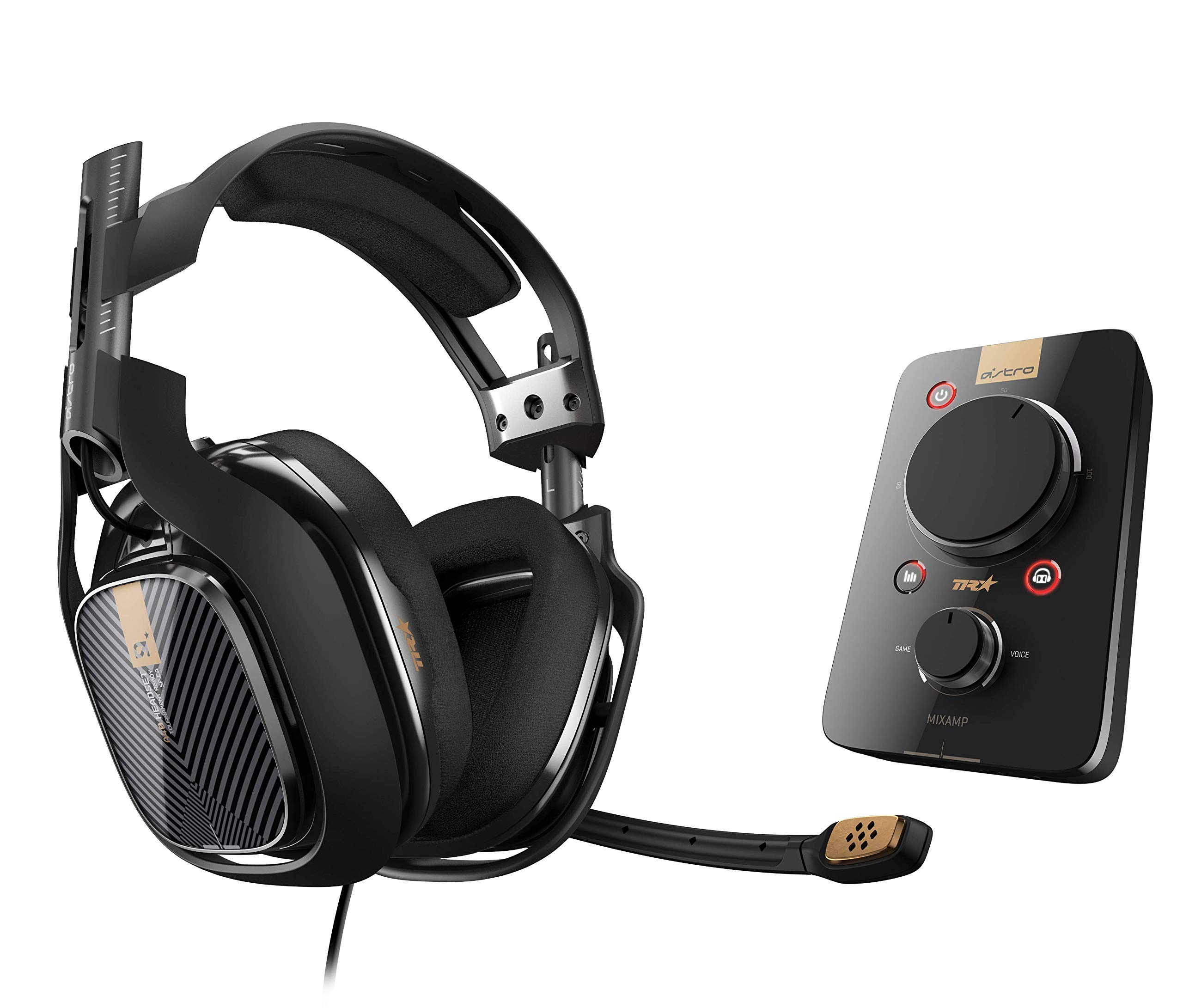 ASTRO Gaming A40 TR Headset + MixAmp Pro TR for PlayStation 4 (2017 Model) by ASTRO Gaming