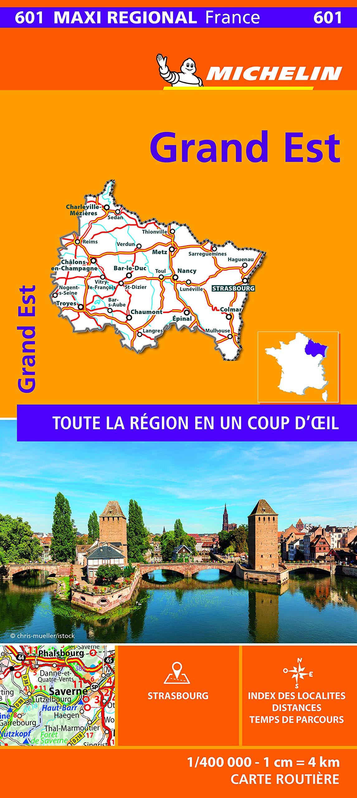 Regions Grand Est Cartes 7640 French Edition 9782067242531 Amazon Com Books