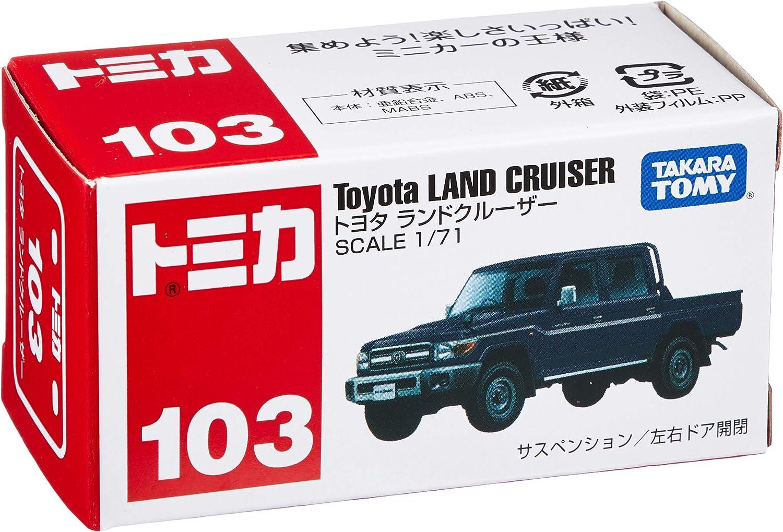 Tomica No 103 Toyota Land Cruiser Box