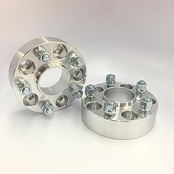 4PCs Hubcentric Wheel Spacer Billet Aluminium 5x114.3 60.1 30mm M12x1.5 Lexus