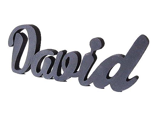 Personalizado Nombre placas de madera, Miniatura, Póngase en ...