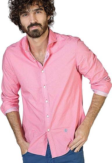 El Ganso 1050s180058 Camisa Casual, Rojo (Frambuesa), Medium ...