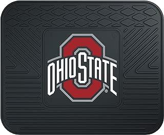 "product image for FANMATS - 10095 NCAA Ohio State University Buckeyes Vinyl Utility Mat, Black, 14""x17"""