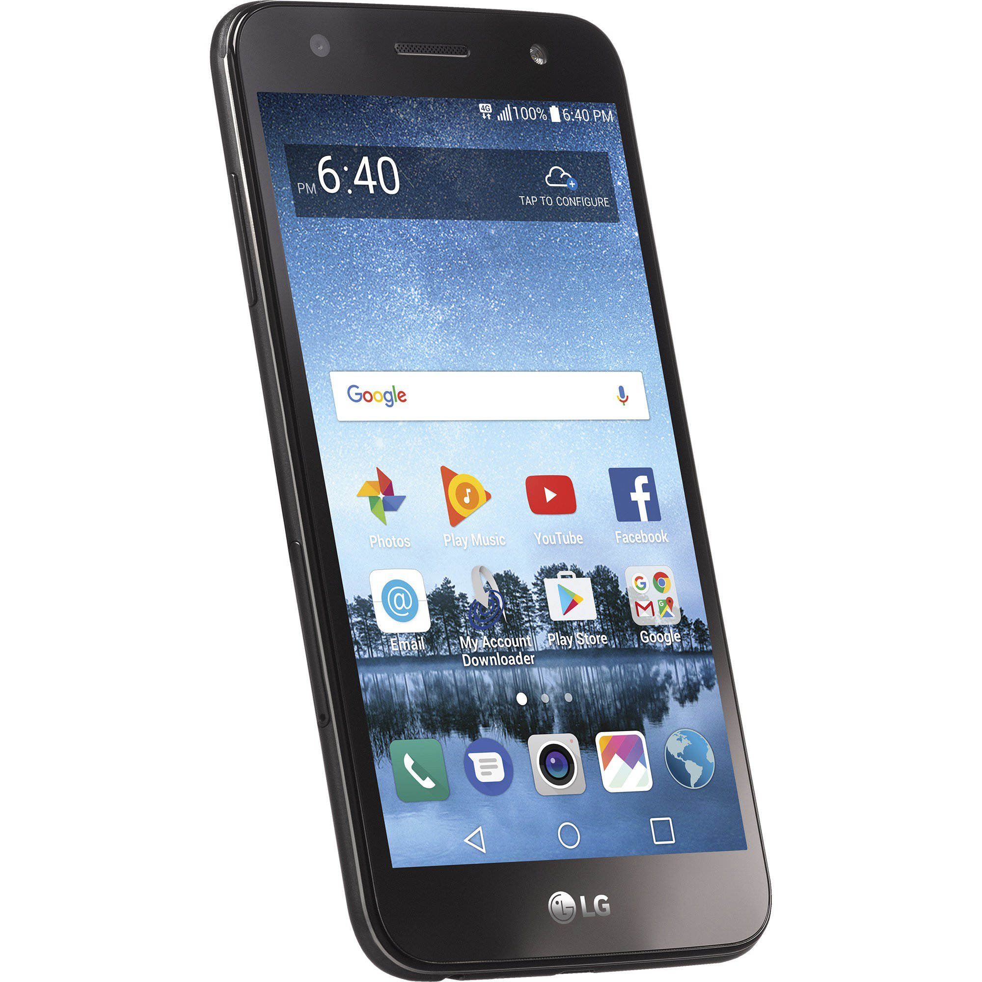 Simple Mobile LG Fiesta 2 4G LTE Prepaid Smartphone with Free $50 Unlimited Bundle by Simple Mobile (Image #2)