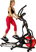 Sunny Health & Fitness Magnetic Elliptical Trainer Machine w/ Tablet Holder,