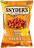 Snyder's Cheddar Cheese Pretzel Pieces 125g - 10 pack