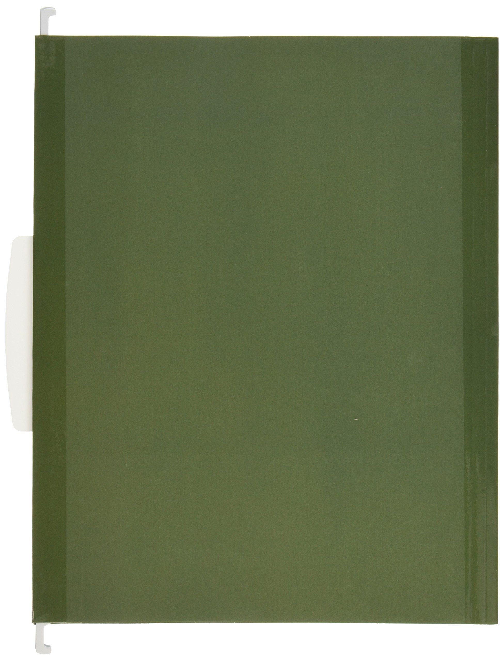 Avery Slide and Lift Tab Hanging Folder, Green, Letter Size, Pack of 12 (73505)