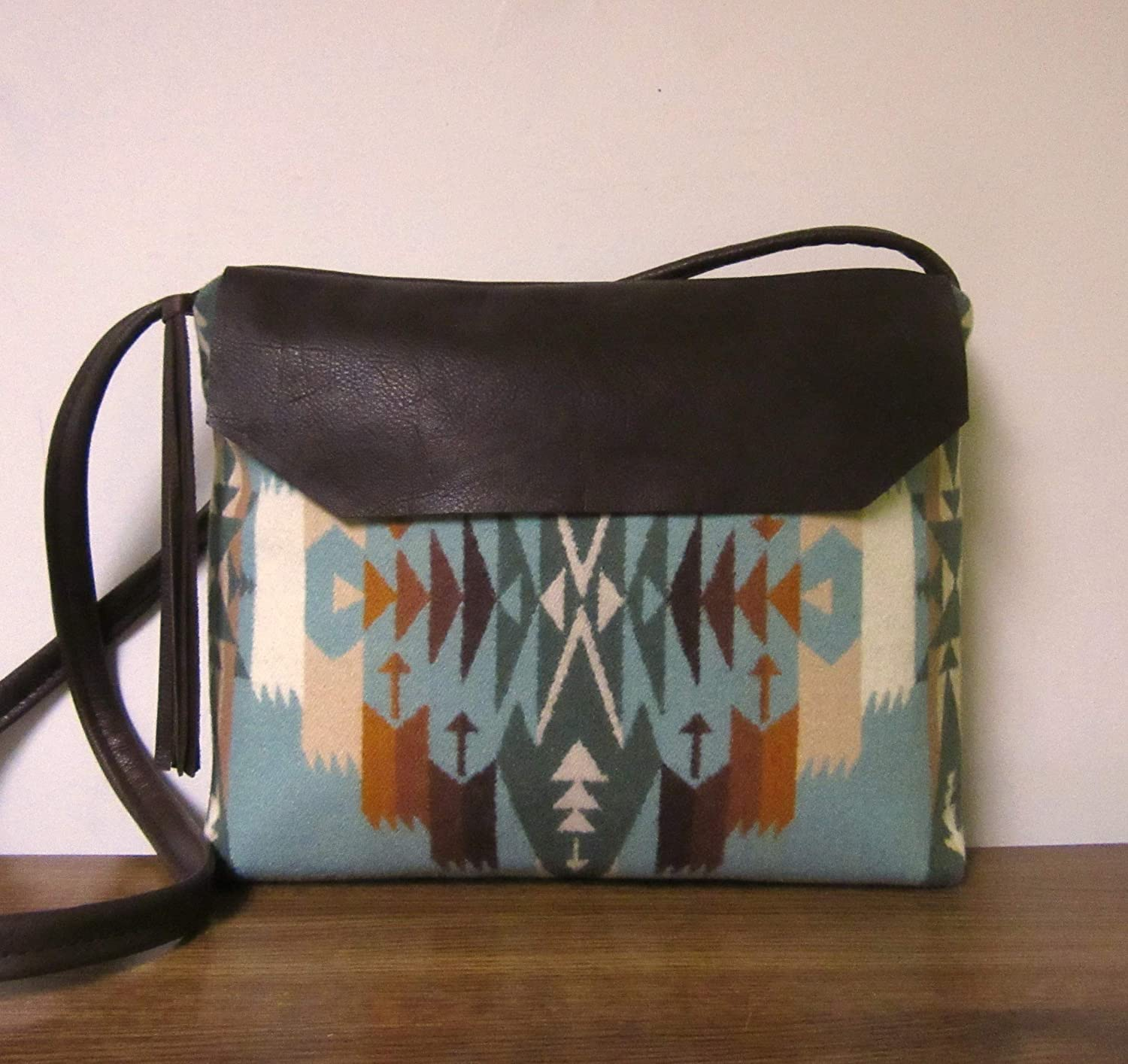 Cross Body Bag Purse Messenger Bag Blanket Wool from Pendleton Oregon