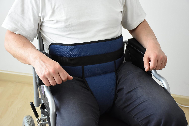 Cinturón de sujeción pélvico para silla de ruedas talla única: Amazon.es: Salud y cuidado personal
