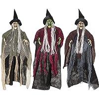 Sunstar 22-In Hanging 3Pc Spooky Witch Assortment Halloween Prop Deals