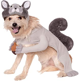 rubies squirrel pet costume