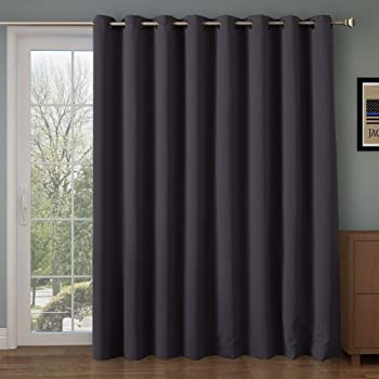 Rose Home Fashion 84l Inches-grey Blackout Curtains