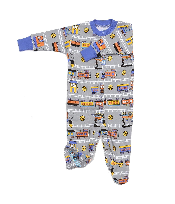 New Jammies Unisex Baby Organic Footie Bodysuit