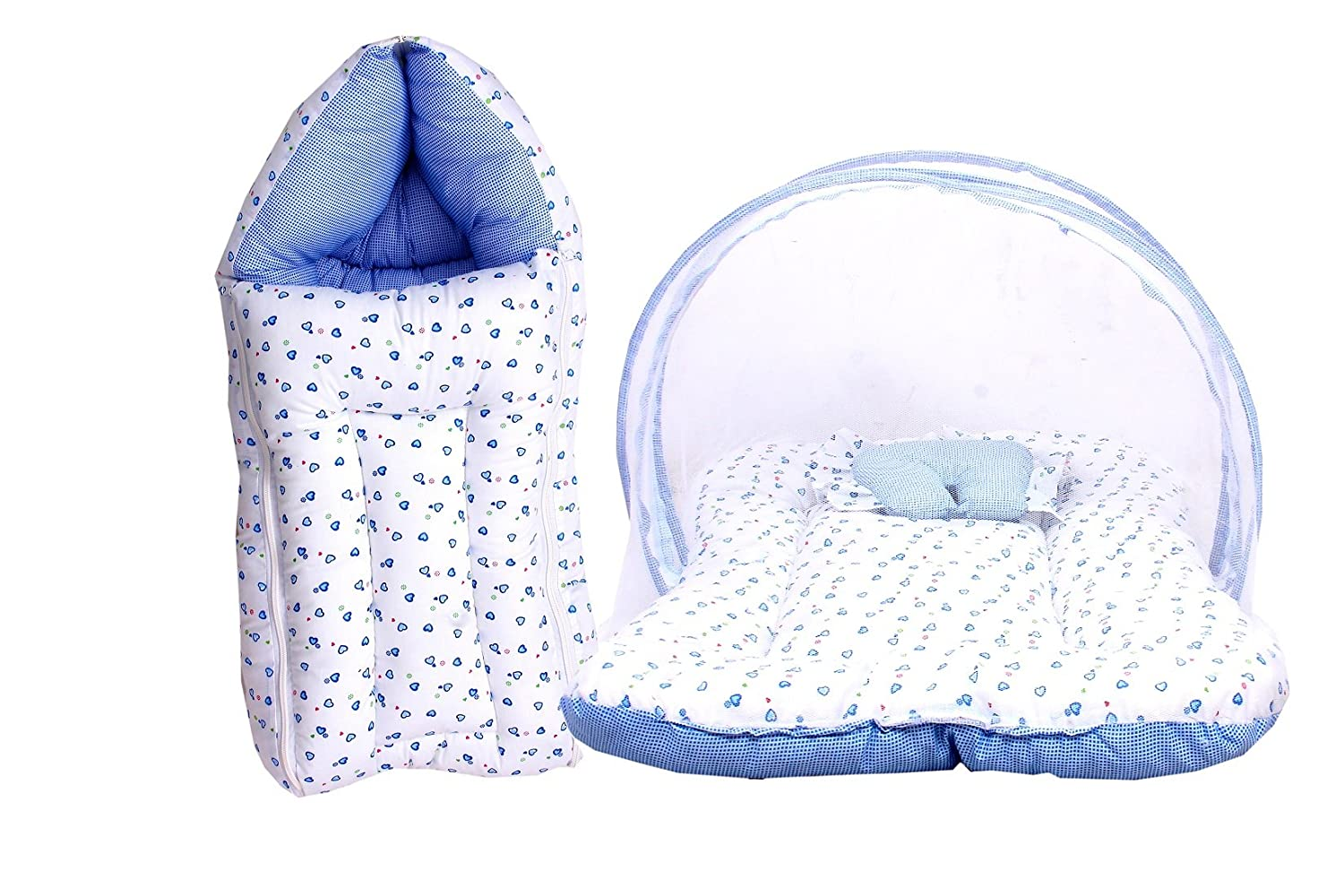 RBC Riya R Baby Fly Mattress with Mosquito Net and Sleeping