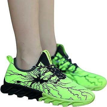 Goldweather Parejas Trail Running Zapatos ♥ Mujer Antideslizante Casual Athletic Ligero Moda Tenis Deportes Gimnasio Walking Zapatos para Hombre: Amazon.es: Deportes y aire libre