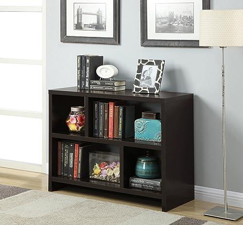 Convenience Concepts Northfield Console Bookcase, Espresso