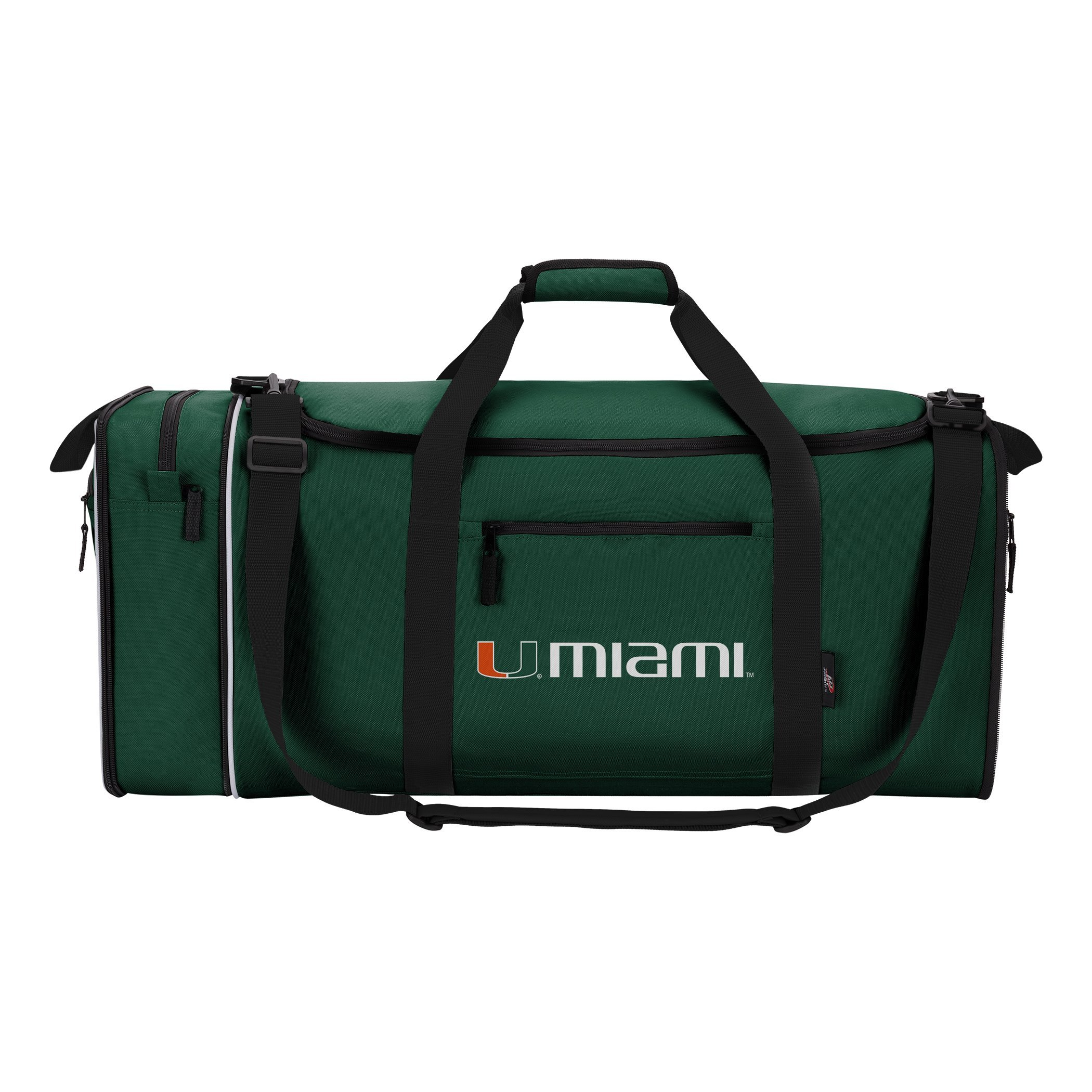 Officially Licensed NCAA Miami Hurricanes Steal Duffel Bag by The Northwest Company (Image #1)