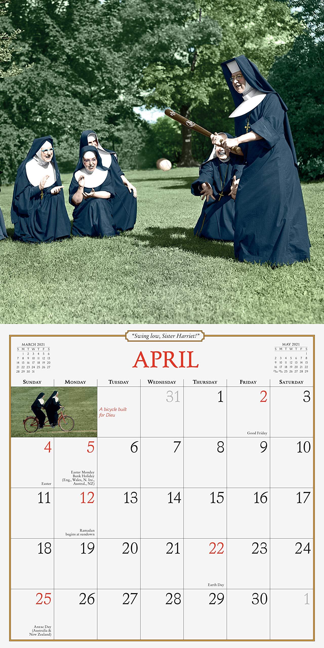 Photos of Nuns Having Fun 2021 Calendar