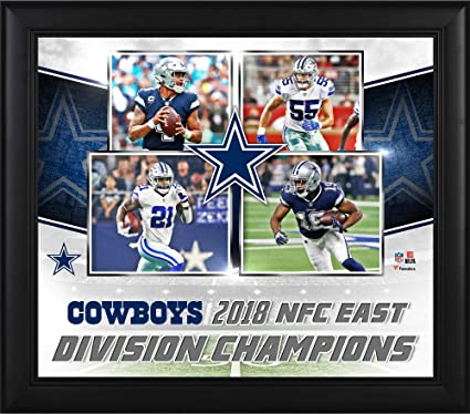 16c748c3d Image Unavailable. Image not available for. Color  Dallas Cowboys Framed  15 quot  x 17 quot  2018 NFC East Division Champions ...