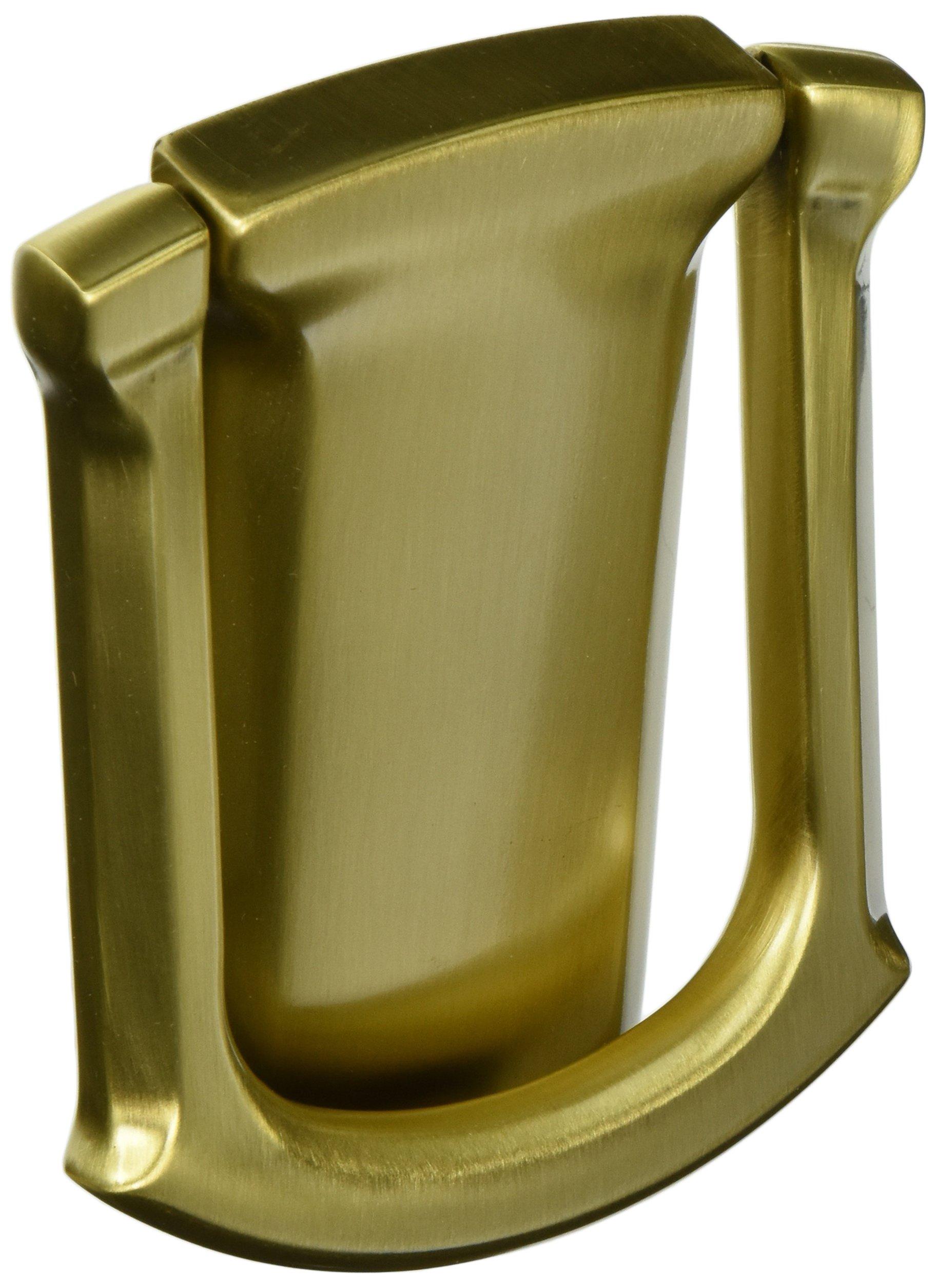 Baldwin 0105060 Tahoe Door Knocker, Antique Brass with Brown
