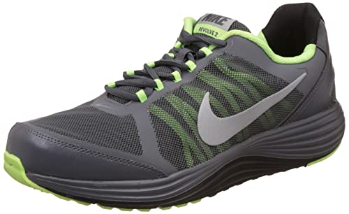 Revolve 2 Dark Grey Running Shoes-9 UK