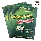 EverPlus Mouse Traps,Mouse Rat Glue Traps, Peanut