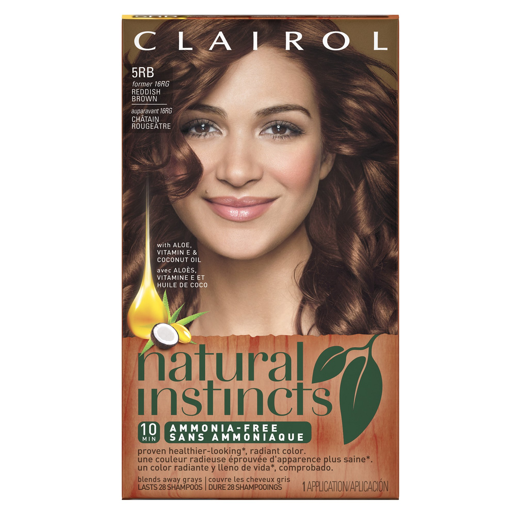 Amazon clairol natural instincts semi permanent hair color clairol natural instincts 5rb16rg sedona sunset reddish brown semi permanent hair solutioingenieria Choice Image