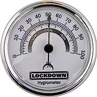 Lockdown Vault Hygrometer Multi-Coloured