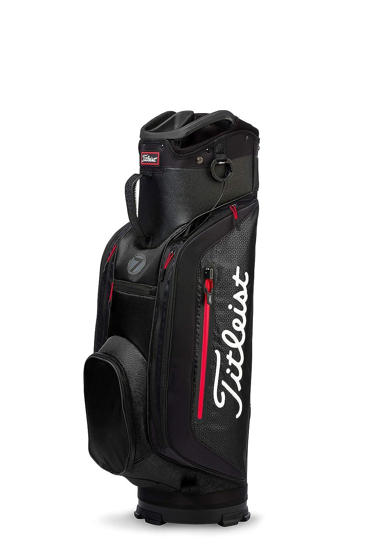 Titleist ゴルフ軽量カートバッグ 7 ブラック/ブラック   B079QBQSKB