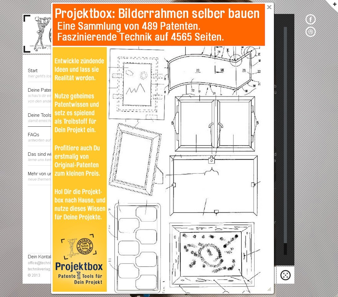 Bilderrahmen selber bauen: Deine Projektbox inkl. 489 Original ...