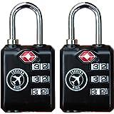 TSA Lock Travel Security Approved Combination Luggage lock Heavy Duty .