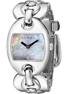 06f81eed0e4 Amazon.com  GUCCI Women s YA100506 100G Bracelet Watch  Gucci  Watches