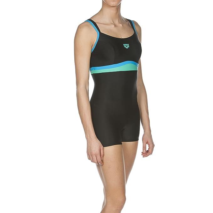 Arena Celebrity - Bañador para Mujer Negro Black/Turquoise/Bali Green Talla:42 [DE 40]: Amazon.es: Deportes y aire libre