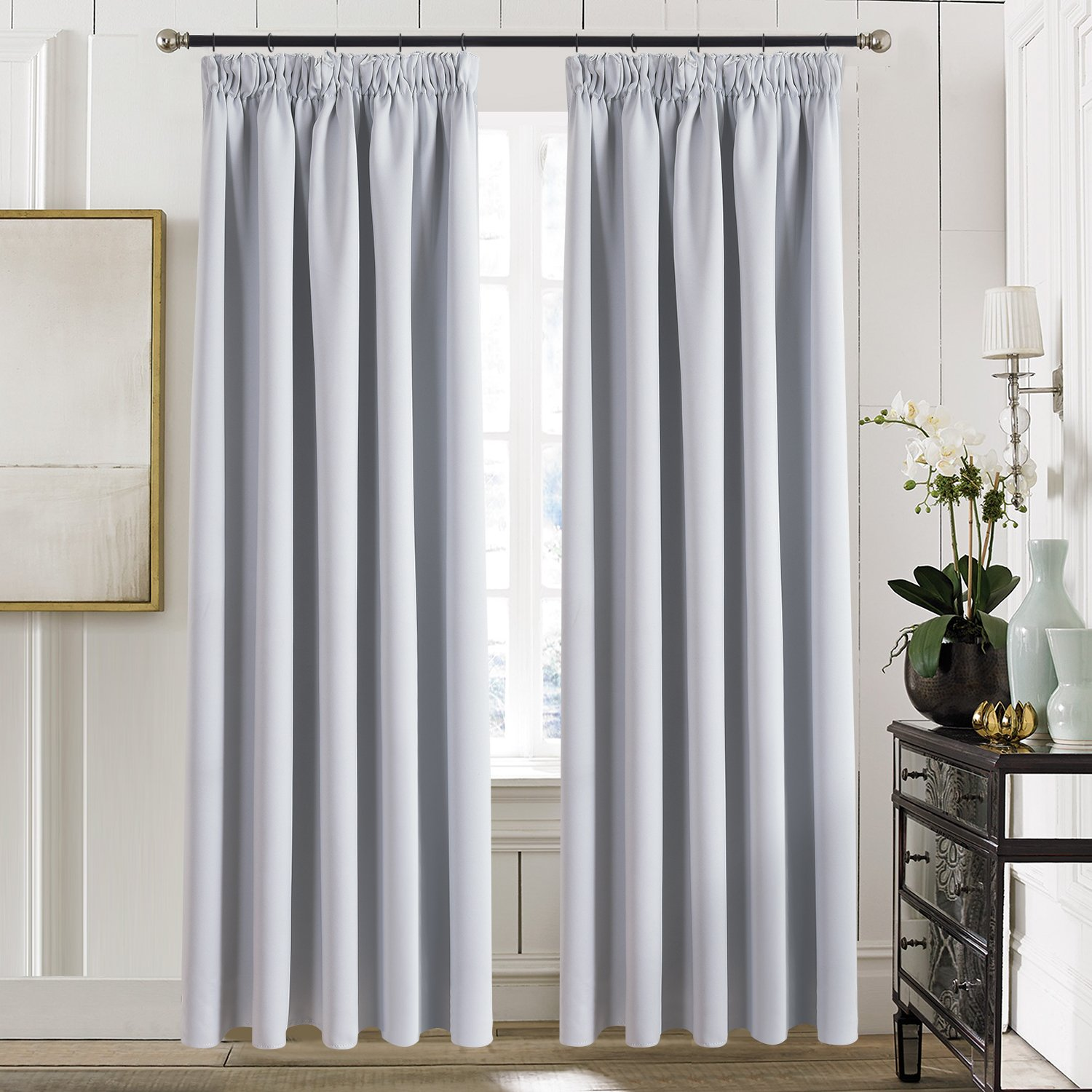 Luxury Curtains for Living Room: Amazon.co.uk