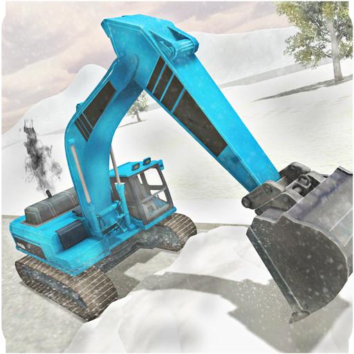 Heavy Snow Excavator Simulator