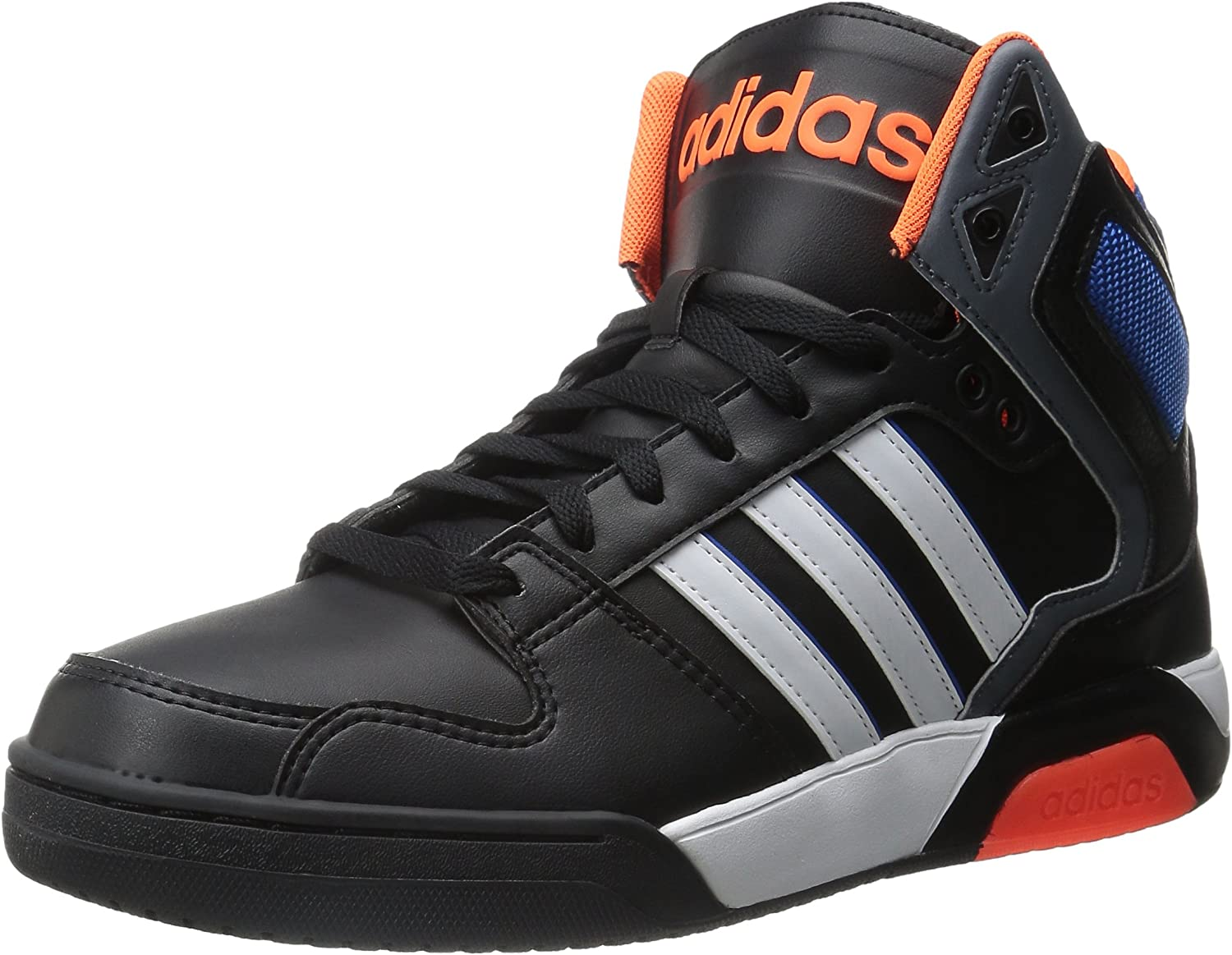 adidas Neo Men's BB9TIS Mid Basketball Shoe BlackWhite